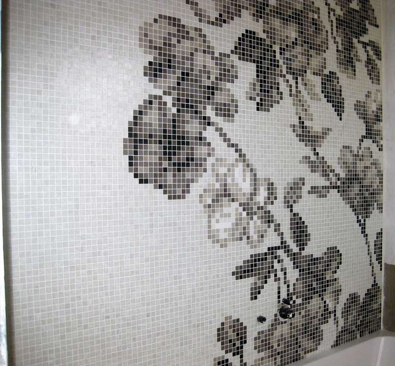 mosaico artistico loghi fregi disegni personalizzati - atzori ... - Bagni Mosaico Bisazza