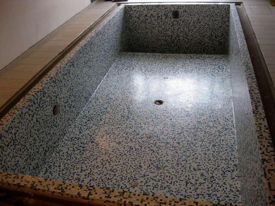 Mosaico in piscina