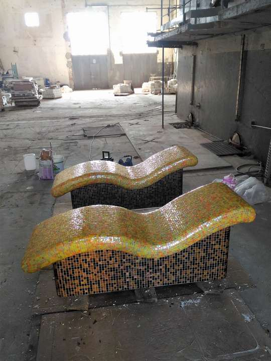 Chaise Longue per spa