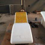 Chaise Longue personalizzata in mosaico