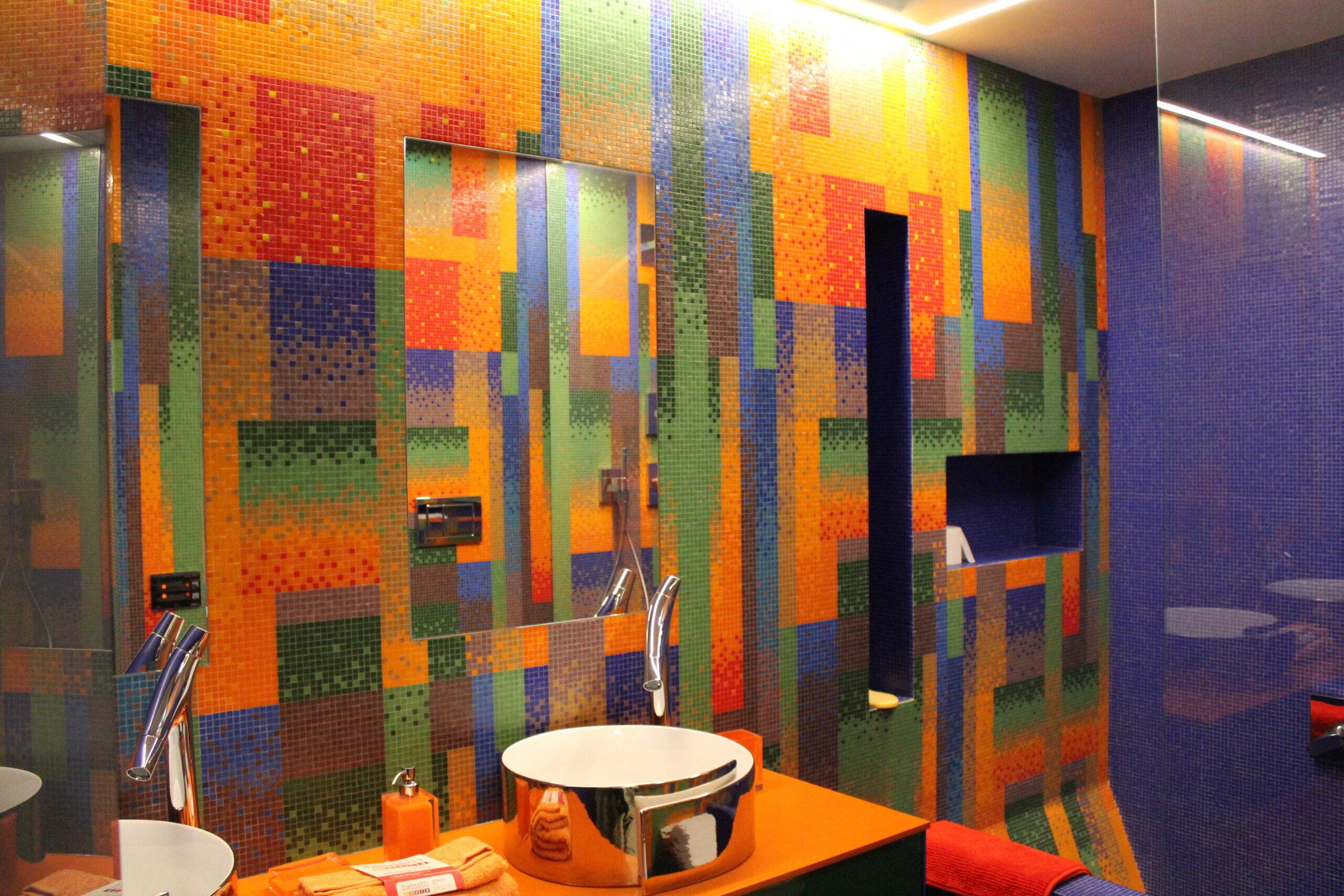 Bisazza mosaico Louisiana collezzione decoro10x10