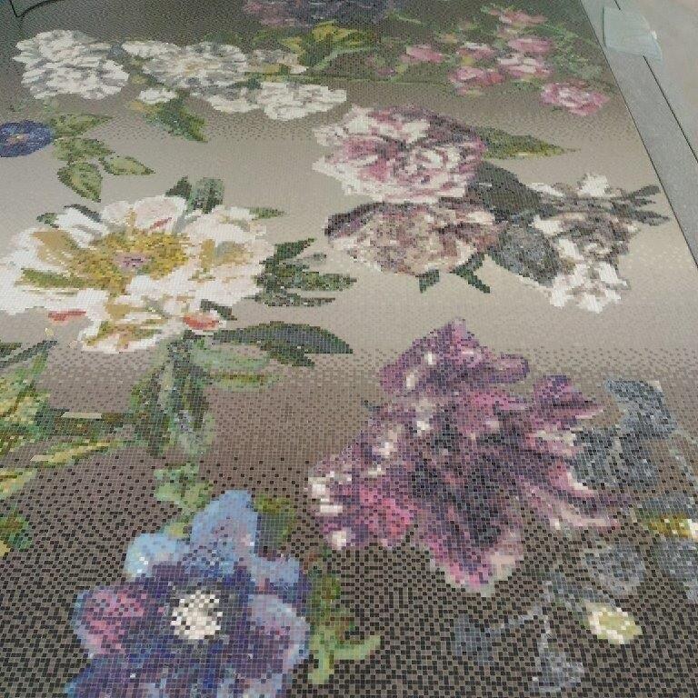 Bisazza mosaico Decoro10x10 Alexandria