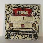Fiat 500 pop art