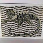 Geko in mosaico