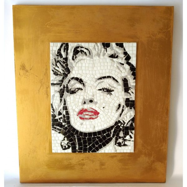 Marilyn Monroe in mosaico