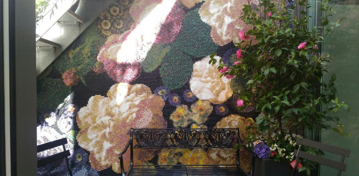 Mosaico floreale