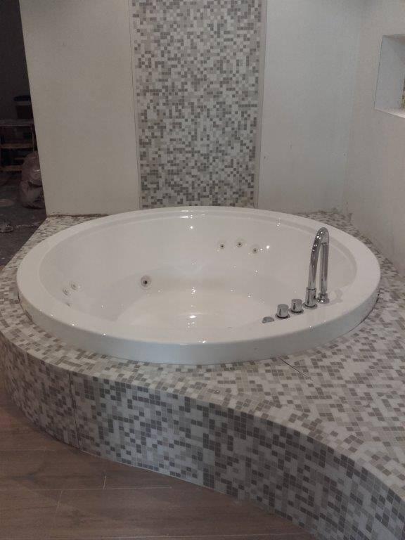 Bisazza miscela 20 x 20 mm nel bagno di Milano