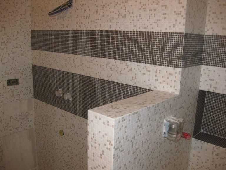 Bisazza mosaico decoro 10x10 mm Paride Wall