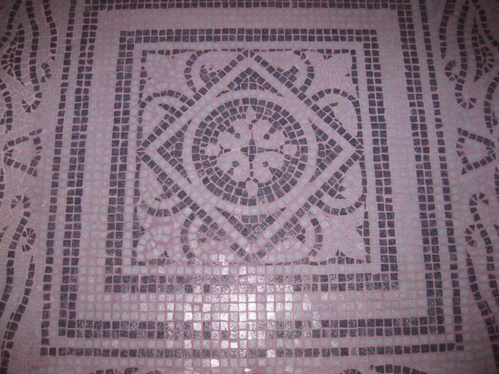 Mosaici artistici realizzati a Lisbona
