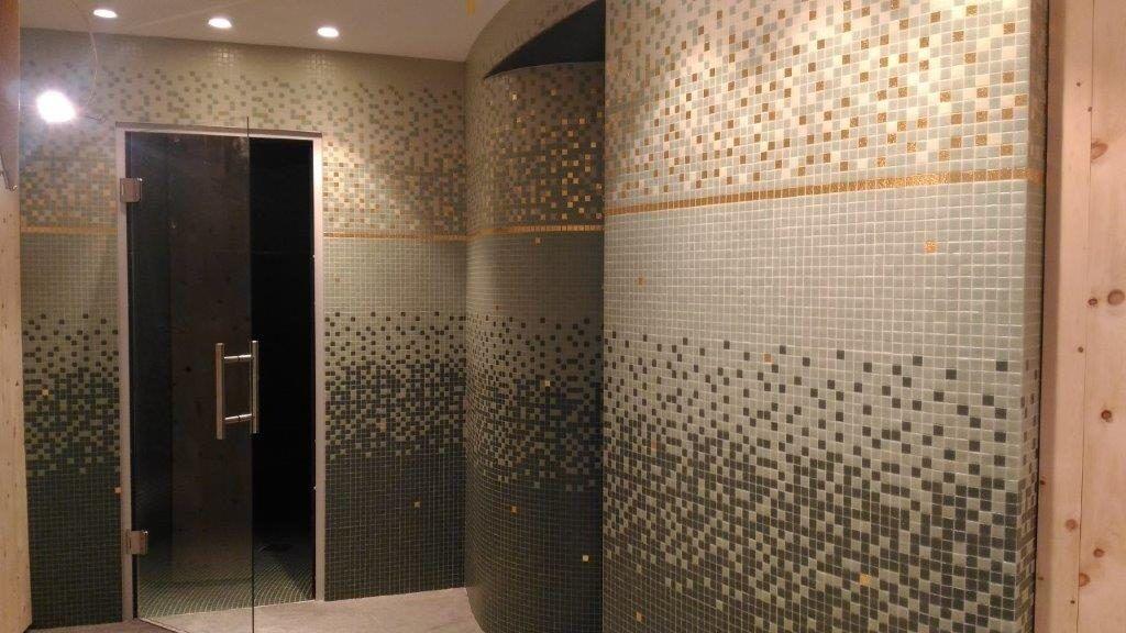bisazza mosaico centro benessere