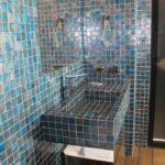 Lavabo bagno in mosaico Bisazza 50x50 mm
