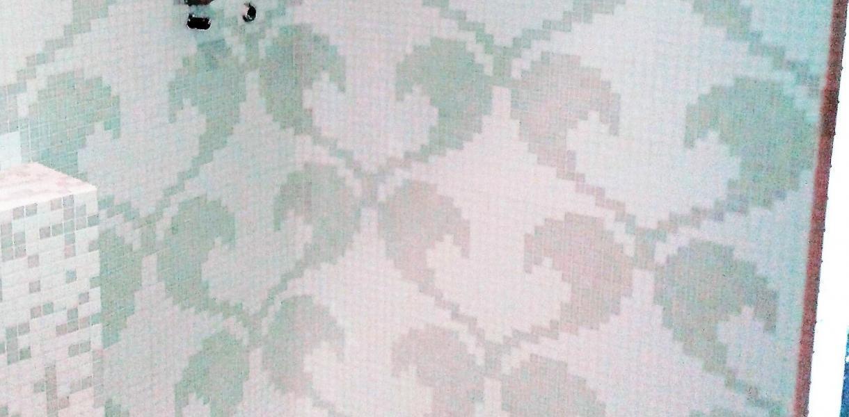 Decoro Bisazza Hearts White formato 20x20 mm