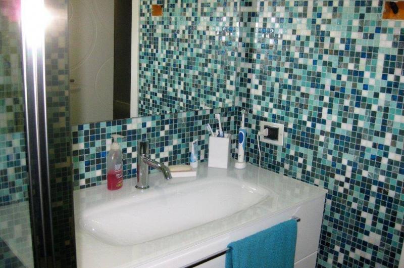Mosaico azzurro Bisazza