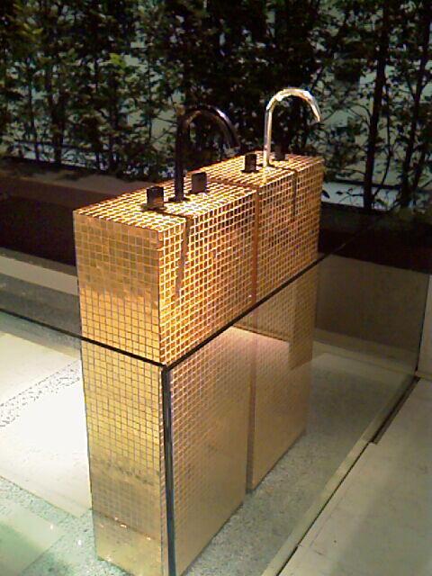 Mosaico in Oro formato tessere 20x20 mm
