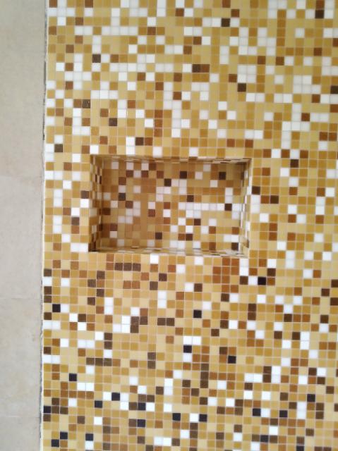 Nicchia in mosaico Bisazza