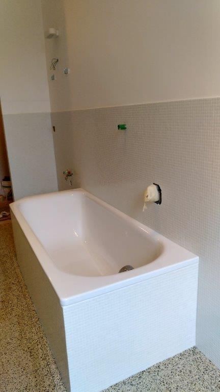 mosaico bianco Bisazza
